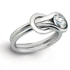 A unique engagement ring