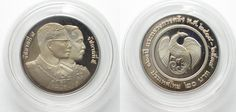 1995 Thailand THAILAND 20 Baht 1995 120th ANN. MINISTRY OF FINANCE Cu-Ni Proof SCARCE! # 95722 Proof