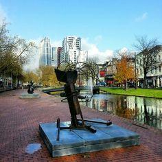 Sculpture, outdoors, Rotterdam