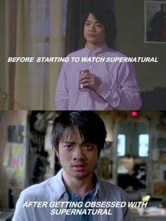Before/After Supernatural