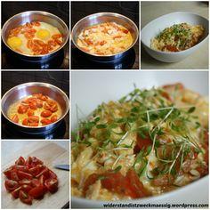 TCM Tomateneierspeise Collage