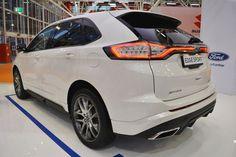 Hiện tại Ford đang trưng bày Ford Edge tại triển lãm Bologna Motor S
