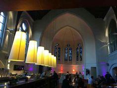 Restaurant in an old church in Bielefeld, Germany