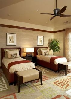 asian bedroom by Willman Interiors / Gina Willman, ASID