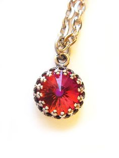 Vintage Swarovski Crystal Necklace Limited Edition by BreatheCouture, $30.00