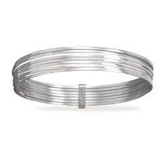 7 Square Bangle Bracelets MMAIntl. $156.95