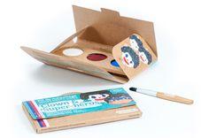 Kit de maquillage 3 couleurs - Clown et super-héros - Namaki - Enfant/Se maquiller, se déguiser - Doux-Good - Cosmétiques bio et naturels