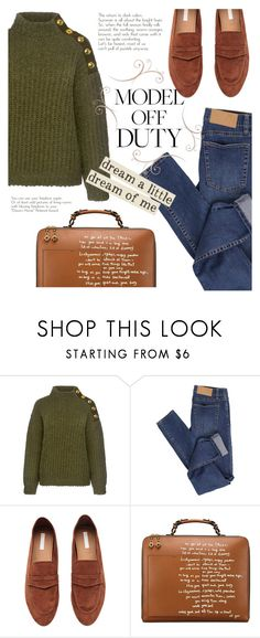 """""""dream_of_me"""" by anja-m ❤ liked on Polyvore featuring Boutique Moschino, Cheap Monday, H&M, Tory Burch and modeloffduty"""