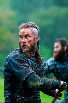 Travis Fimmel as Ragnar Lothbrok in Vikings