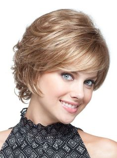 "Sandie by Noriko Ladies Wigs | Valentine Wigs | Sandie by Noriko Ladies Wigs is a textured ladies wig in a short styled piece, with a tousled finish. Its elegant looks are perfect for your special moments and the comfortable cap will make you wear it even longer. Weight 2.6oz (74g) Fringe 5.2"" (13cm) Crown 6.4"" (16cm) Nape 3.6"" (9cm)"
