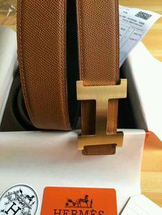 1f92d3cbd 42MM Brown Hermes Constance Leather Mens Belt 110CM #fashion #clothing  #shoes #accessories #mensaccessories #belts (ebay link). Christa Hatcher