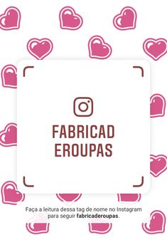 6ae8d0f0d Siga-me no Instagram! Nome de usuário: fabricaderoupas  https://www.instagram.com/fabricaderoupas?r=nametag
