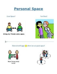 Cut-n-paste visual activity with social story about personal space. For use in preschool, kindergarten, or low verbal Autism classrooms. space Personal Space Social Story and Cut-n-Paste Activity for Preschool or Autism Social Stories Autism, Social Skills Autism, Social Skills Activities, Teaching Social Skills, Counseling Activities, Autism Activities, Autism Resources, Bubble Activities, Space Activities For Kids