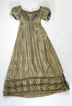 Dress  1819-1821  The Metropolitan Museum of Art