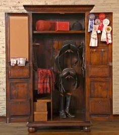 Another tack armoire.
