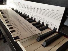 Klaviatur für Musikunterricht - Die Klaviatur mit Herz