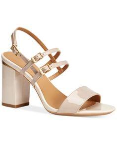 Blue Sandals, Shoes Sandals, Calvin Klein, Girls Shoes, Ladies Shoes, Slingback Sandal, Pumps, Heels, Designer Shoes