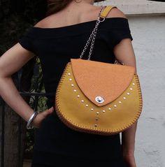 Saddle Bag /  Leather Crossbody Bag / Leather Saddle Bag / Leather Shoulder Bag / Bolsos / Sac Cuir / Leer Tas / Bagstream Bag / Borsa pelle de BagStream en Etsy