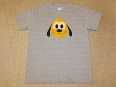 PLuTo Happy EMoJi Custom Boutique T SHIRT Tee HoLiDaY Vacation by EnchantedStitches528 on Etsy