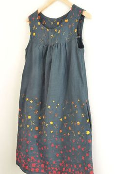Love this version of the Ruby Dress by Amber or Sewing and Sowing (pattern by Made By Rae)