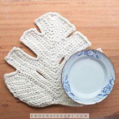 Love Crochet, Crochet Motif, Crochet Doilies, Crochet Home Decor, Knitting, Handmade, Crafts, Diy, Ohana
