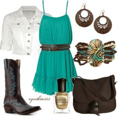 """""""Boot Scootin'"""" by cynthia335 on Polyvore"""