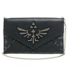 Zelda Envelope Purse with Chain