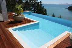 amazing above ground pool design infinity pool deck ideas wooden pool deck