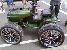 Customized lawnmowers