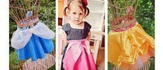 Princess Aprons!!  Such a cute idea!!