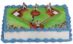 Baseball Cake Kit (5 Figures)