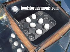 Try It Tuesday-Baked Eggs in our Global Solar Sun Oven Emergency Preparation, Emergency Food, Survival Food, Emergency Preparedness, Survival Tips, Oven Recipes, Camping Recipes, Camping Ideas, Healthy Recipes