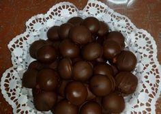 Σοκολατακια banofee συνταγή από mariouli7 - Cookpad Healthy Snaks, Little Bites, Apple Roses, Banoffee, Yams, Truffles, Sweet Recipes, Food To Make, Deserts