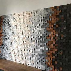 Wood Wall Art Decor, Large Wood Wall Art, Rustic Wall Art, Rustic Walls, Wooden Wall Art, Metal Wall Art, Art Mural 3d, Grand Art Mural, 3d Wall Art