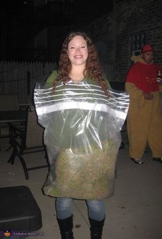 Halloween costume idealoli did this for one of the zombie bag of weed halloween costume contest via solutioingenieria Choice Image