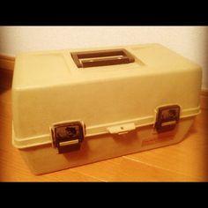 old palのタックルボックス。今から30年以上前購入。宝物。 - @bassbokuno- #webstagram