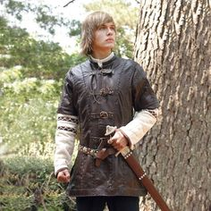 MuseumReplicas.com carries Medieval & Viking costumes and weapons, such as this Leather Jerkin.