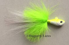 Amazon.com : Marabou Bucktail Jig - Ultra Minnow Fish Head - 2oz to 8oz - Saltwater : Sports & Outdoors