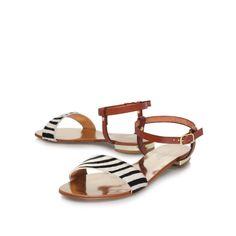 koala, tan shoe by carvela kurt geiger - women shoes sandals flats