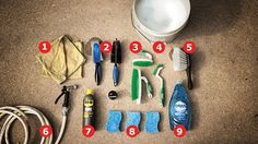 What You Need http://www.bicycling.com/repair/maintenance/a-step-by-step-guide-to-cleaning-your-bike