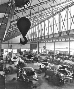 Porsche production