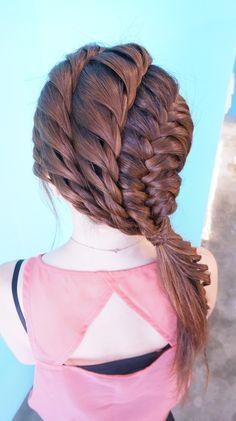 twists and braids hair style RULeR Hair Dressing Japan makoto ishii