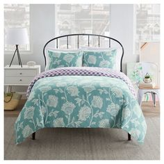 Create your sanctuary of comfort and style with the Seedling By ThomasPaul® Botanical Duvet Set. This duvet and sham set is on-trend in classic sha...
