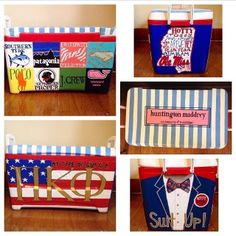 """My type of guy is a Pi Kappa Phi"" Fraternity Formal, Fraternity Coolers, Frat Coolers, Pi Kappa Phi, Delta Gamma, Formal Cooler Ideas, Fraternity Collection, Cooler Designs, Cooler Painting"