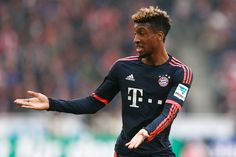 Kingsley Coman of Bayern Muenchen looks on during the Bundesliga match between 1. FC Koeln and FC Bayern Muenchen held at RheinEnergieStadion on March 19, 2016 in Cologne, Germany.