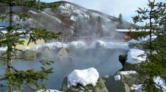 Chena's Hot Springs, Alaska
