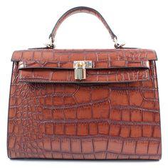 Accessori moda: Borse medie Donna ALLEGRA4520 Marrone