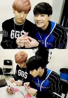 #MarkSon I SWEAR! They need to have their own k-drama. I ship them so much. \(*0*\) MarkSon's love-dovey moments 101