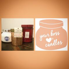 Happy Bosses Day! Come by and pick out a candle to show your boss how much you appreciate them! We have several different types to choose from! Call 979-694-1700 to order. PINE BOUTIQUE ~ College Station, TX
