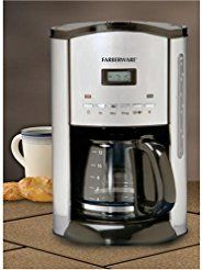 Christmas deals week Farberware FCM12SS 12-Cup Coffeemaker Stainless/Black